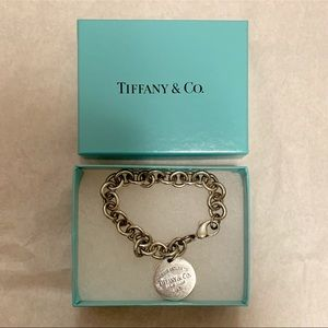 Tiffany & Co. Tag Charm Bracelet, Sterling Silver